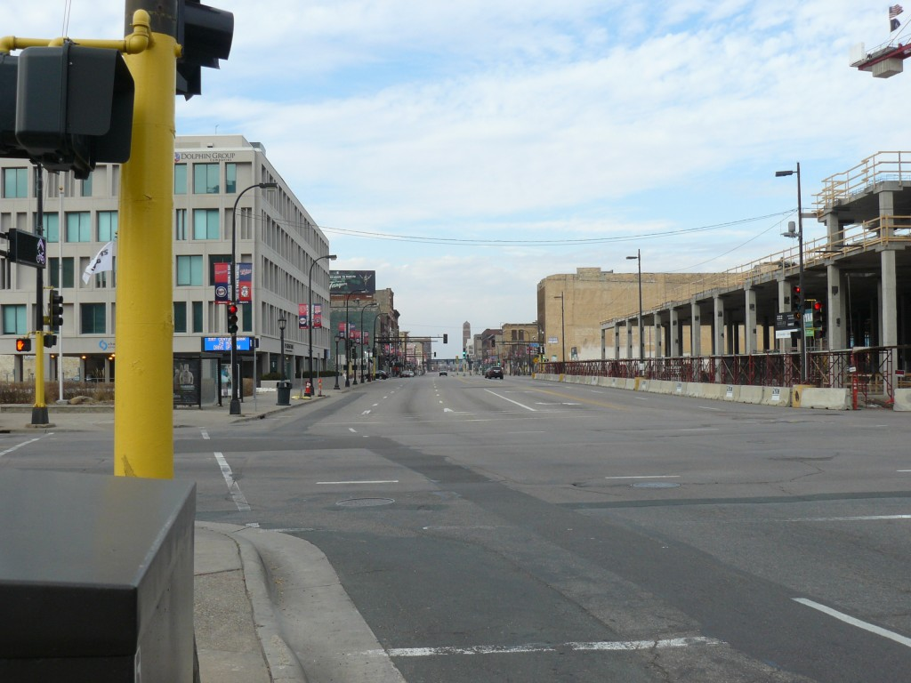 Washington Avenue North from Hennepin