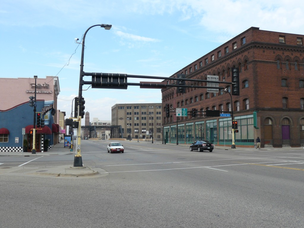 Washington Avenue North from Third Avenue North