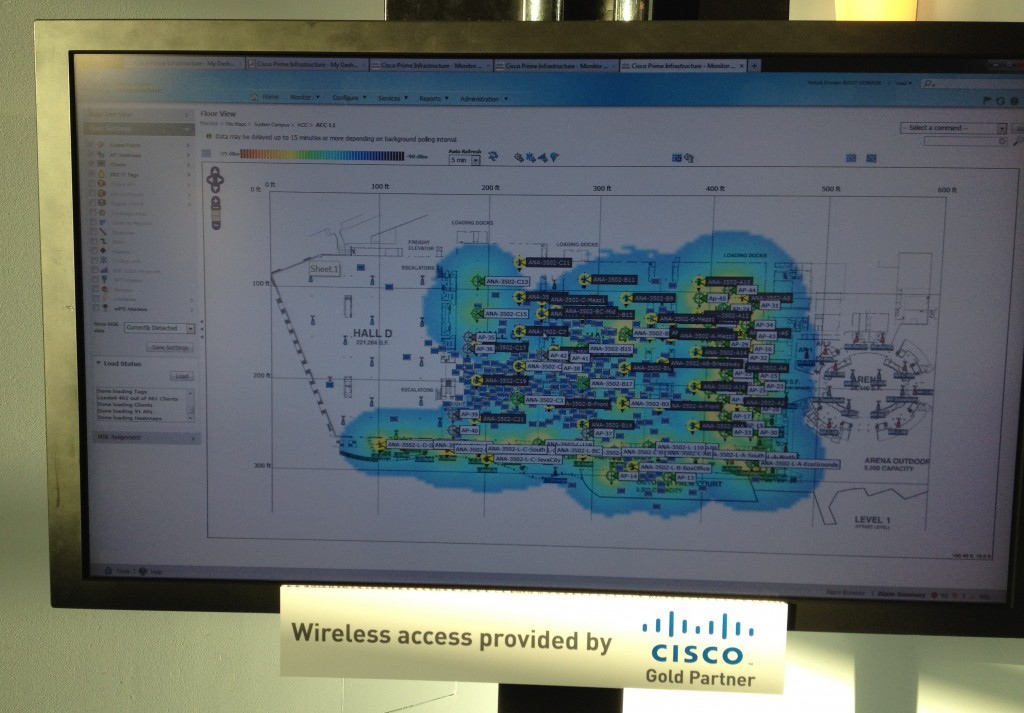 Cisco wireless map